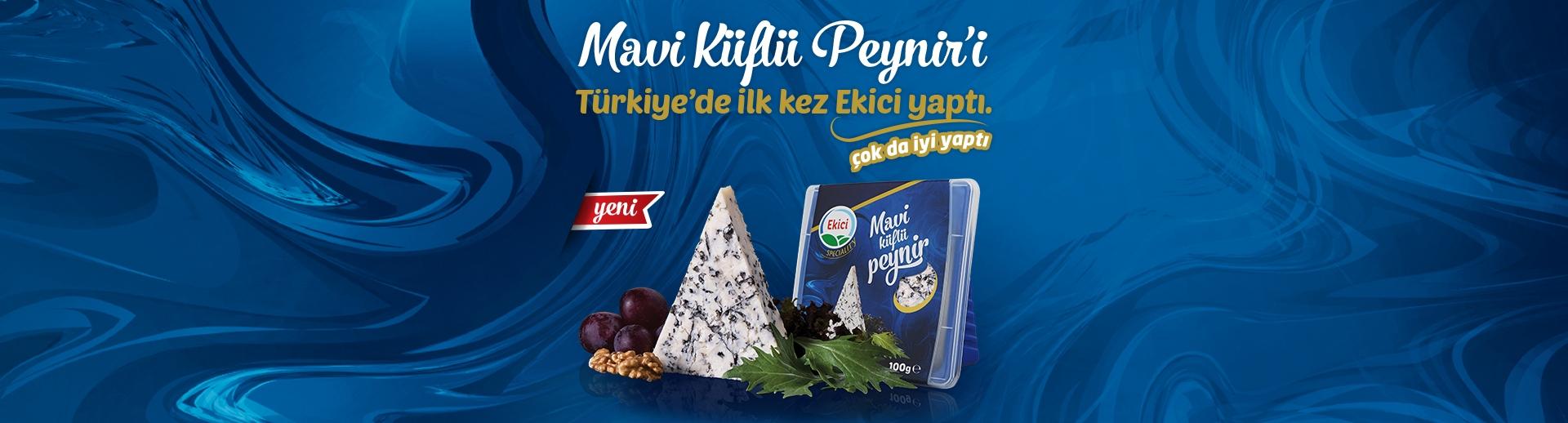 Türkiye'de İlk kez Mavi Küflü Peynir'i Ekici Yaptı. Çok da İyi Yaptı!